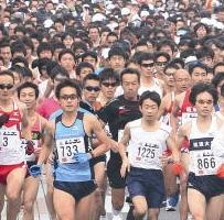 坂東市いわい将門ハーフマラソン2013